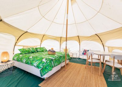 GLAMPING TROPICAL INSIDE