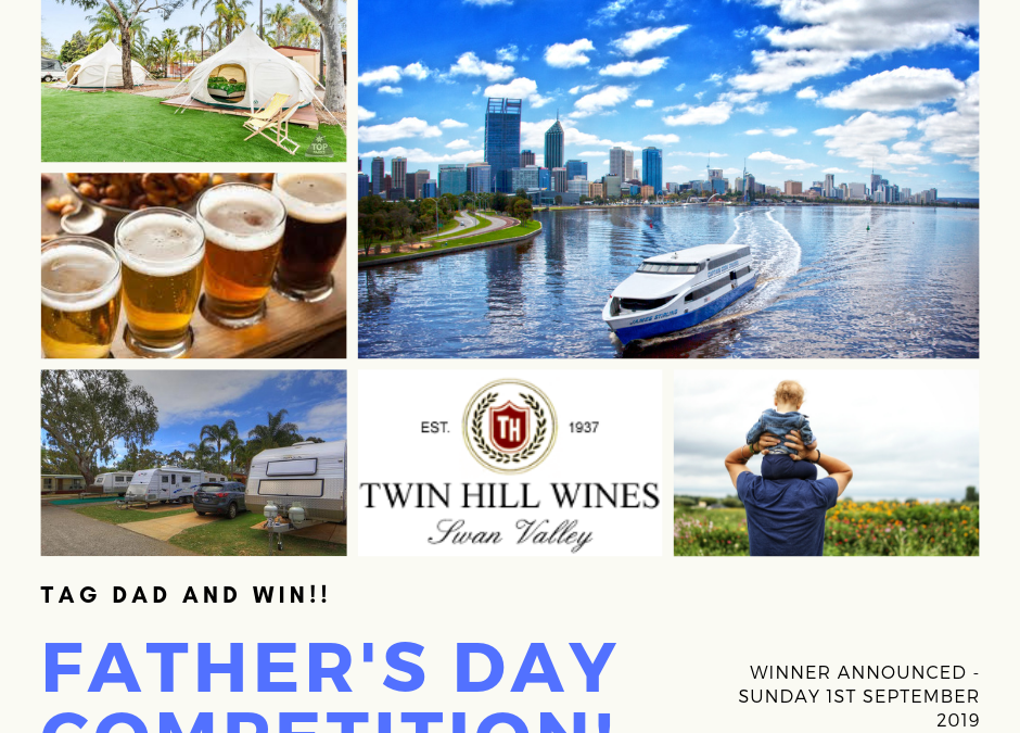 Competition Time – Celebrate Dad this Father's Day